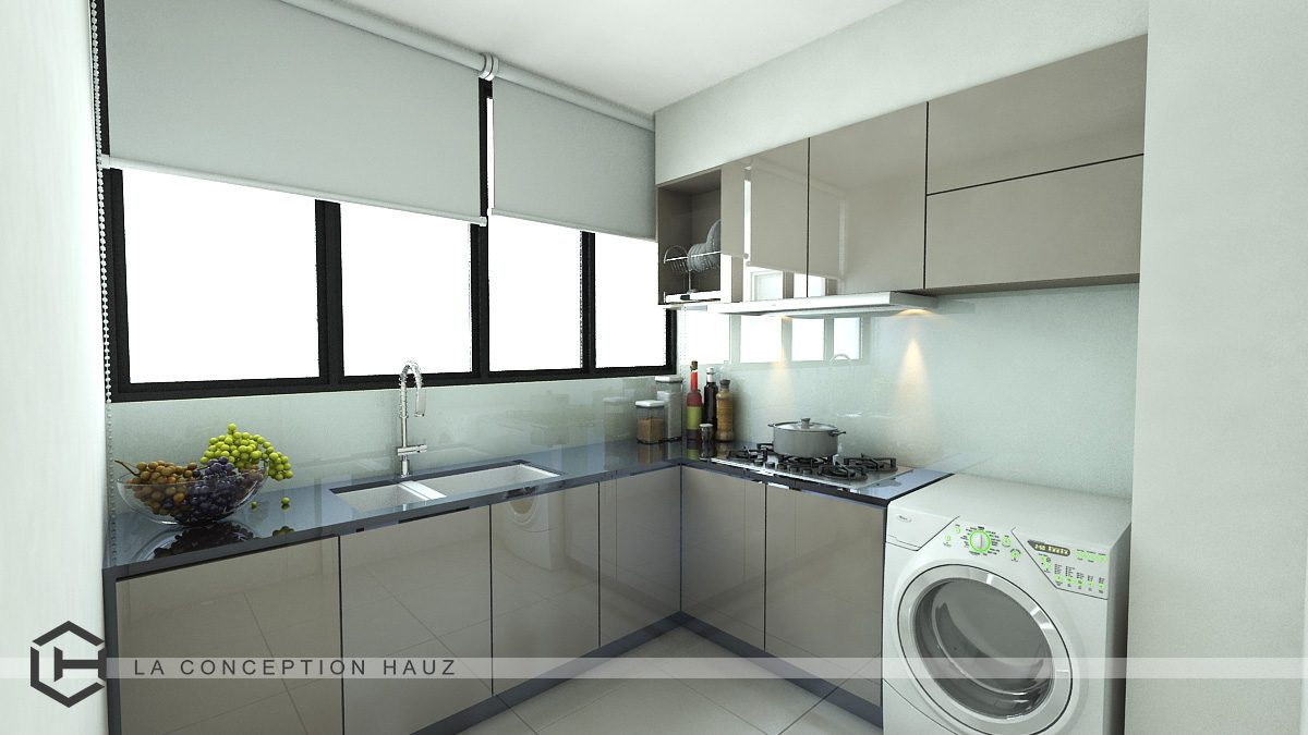 condo kitchen design. Small Kitchen Design For Condominium In Bukit Jalil  Project By La Conception Hauz 50 Malaysian Designs And Ideas Recommend LIVING