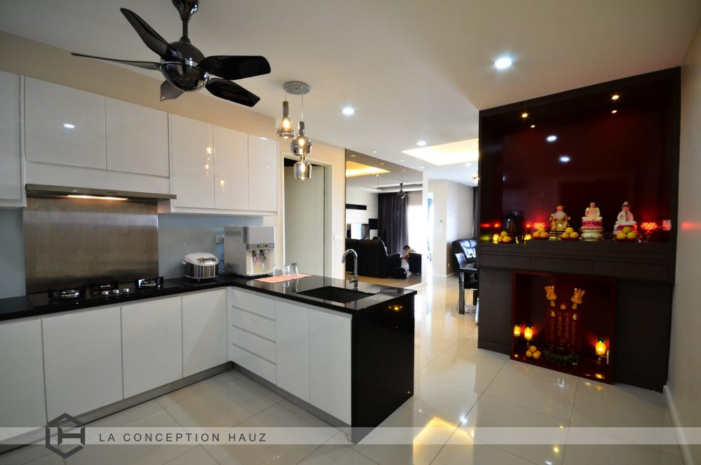 Kitchen Design For 288 Residency, Setapak. Project By: La Conception Hauz