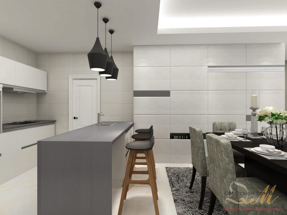 condo kitchen design. Open Plan Kitchen Design For Condominium In Cheras  Project By QM Design 50 Malaysian Kitchen Designs And Ideas Recommend LIVING