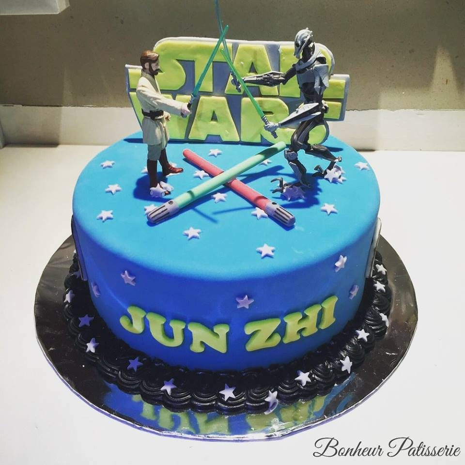 Star Wars Living Room Art: Star Wars Cakes You Can Order In Singapore