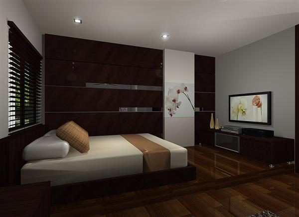 Concept for Terrace House Bedroom. Project by: Dans De Design
