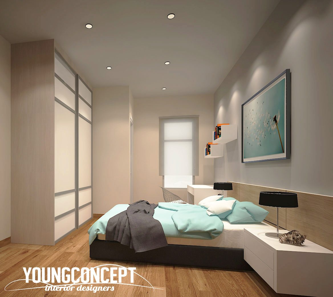 Double Storey House in Semenyih. Project by: Young Concept Design