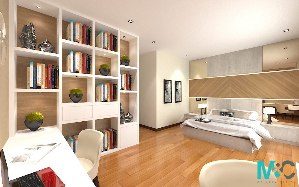 Bedrooms that have lesser distractions and have warmer colours will encourage more chi flow