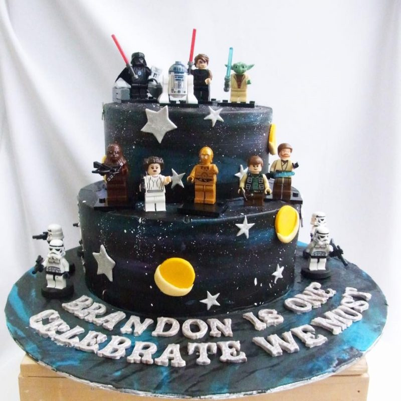 Admirable Star Wars Cakes You Can Order Recommend My Birthday Cards Printable Riciscafe Filternl