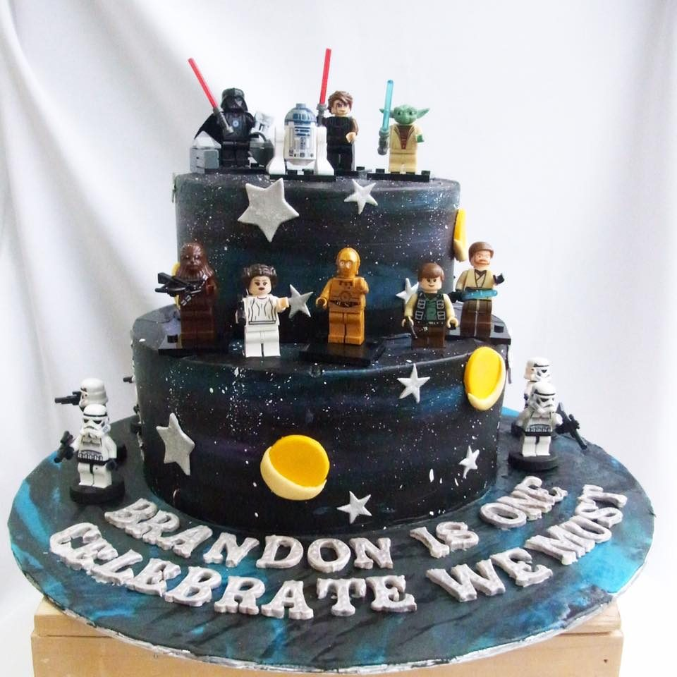 Lego Star Wars cake by Corine and Cake - Recommend.sg