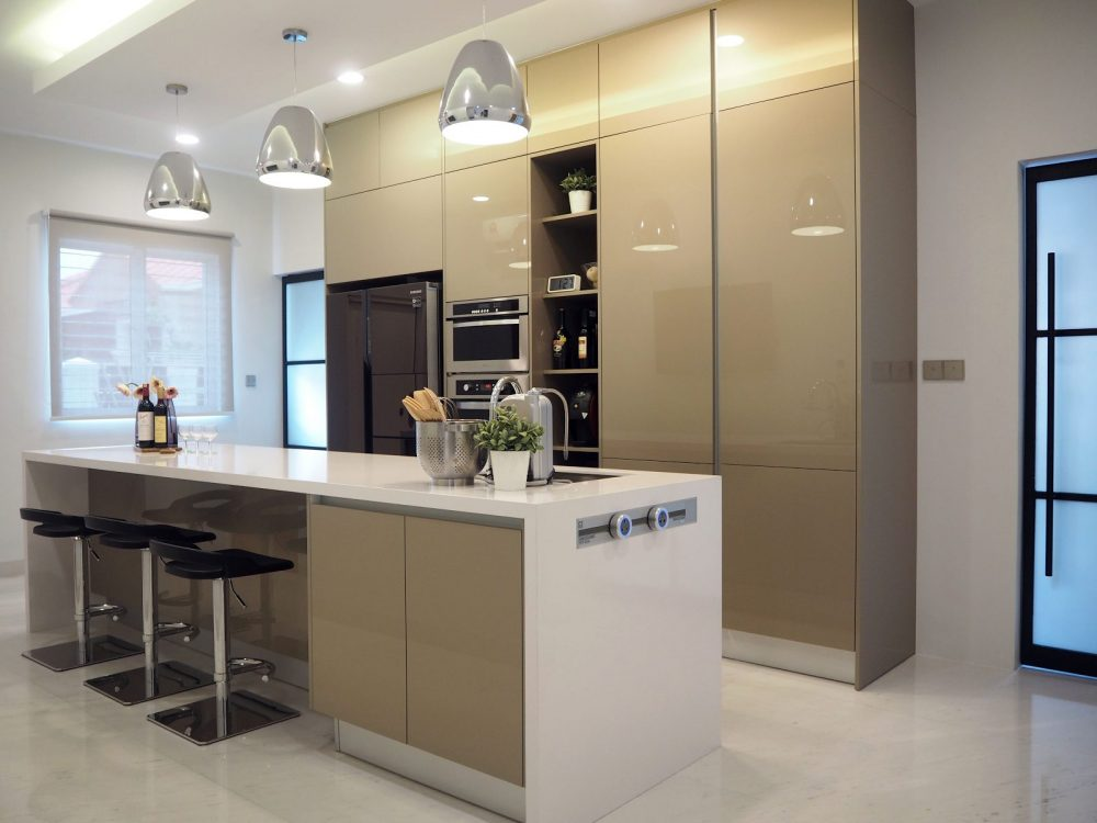 Kitchen Design For Terrace House In Ara Damansara. Project By: Meridian  Inspiration