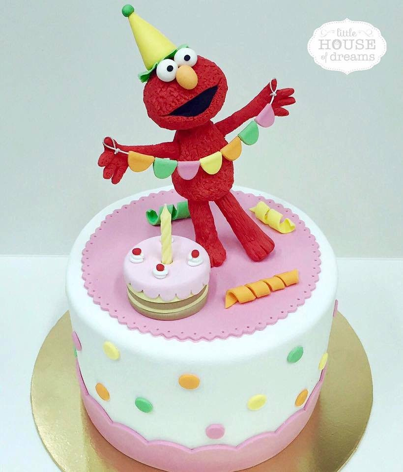 11 CustomMade Elmo Cakes You Can Order in Singapore Recommend LIVING