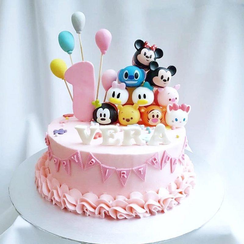 Tsum Tsum Birthday Cake Singapore