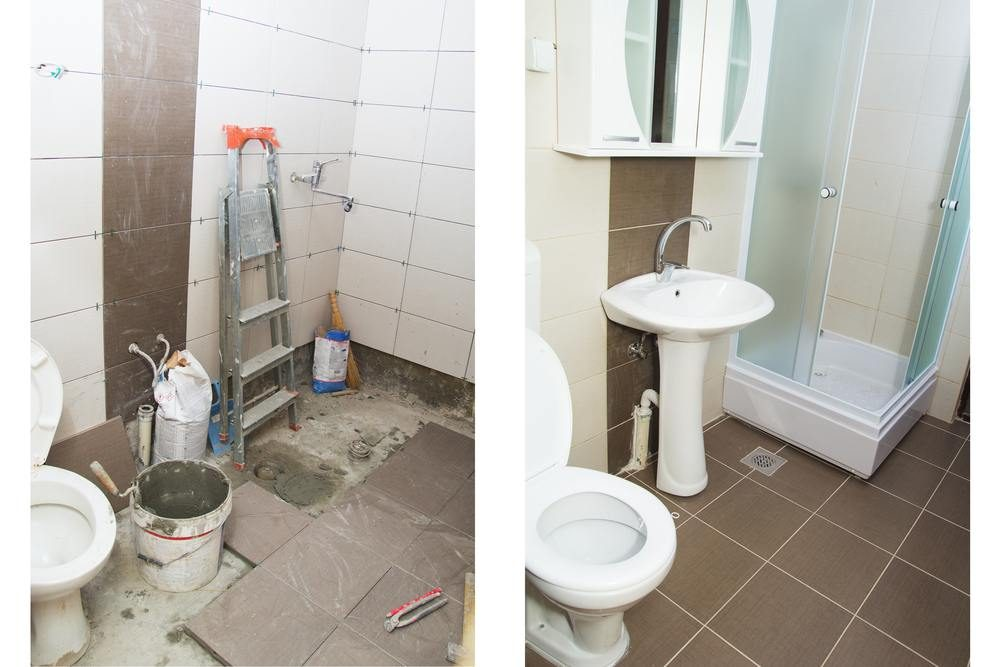 Take photos of your renovation from the same angle to see the progress over time