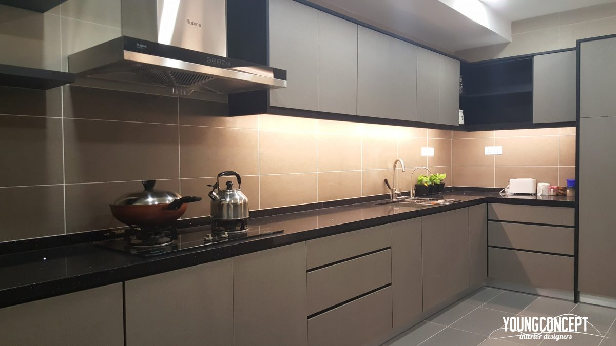 Kitchen design Malaysia by Young Concept