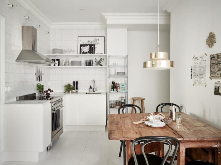 How To Soften The Look of Your Modern Kitchen With Wood