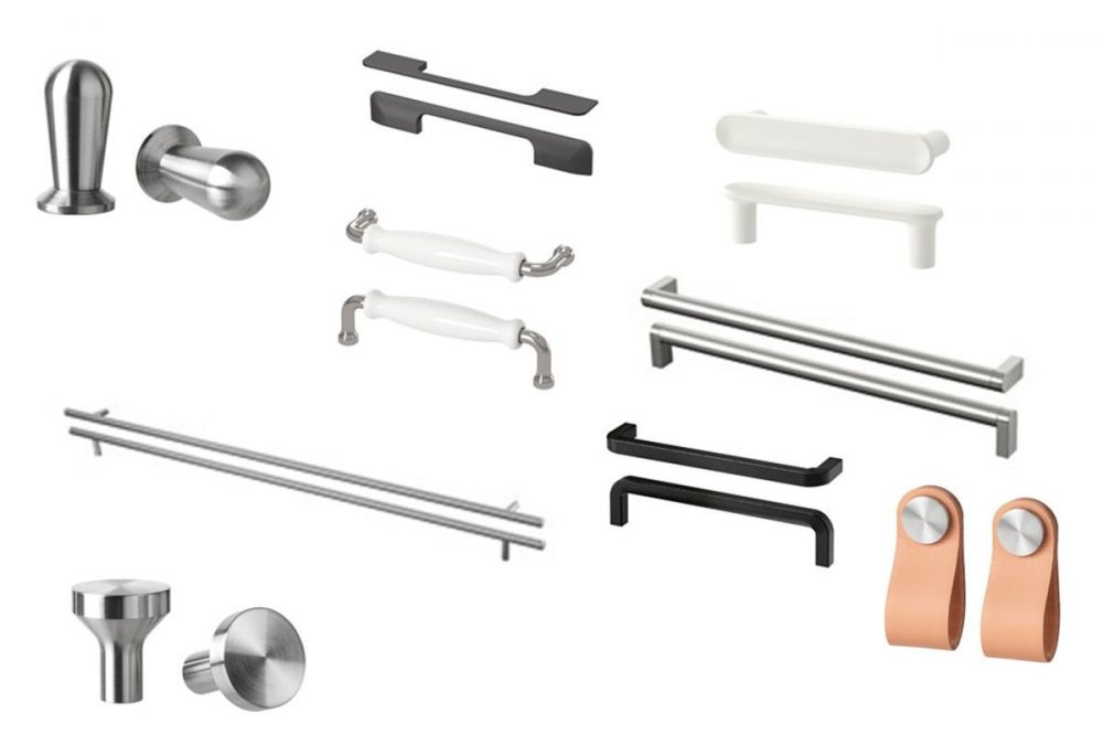 Door handles, knobs and pulls