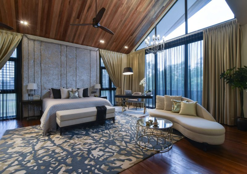 Infusing modern contemporary and balinese styles in presint 11 putrajaya