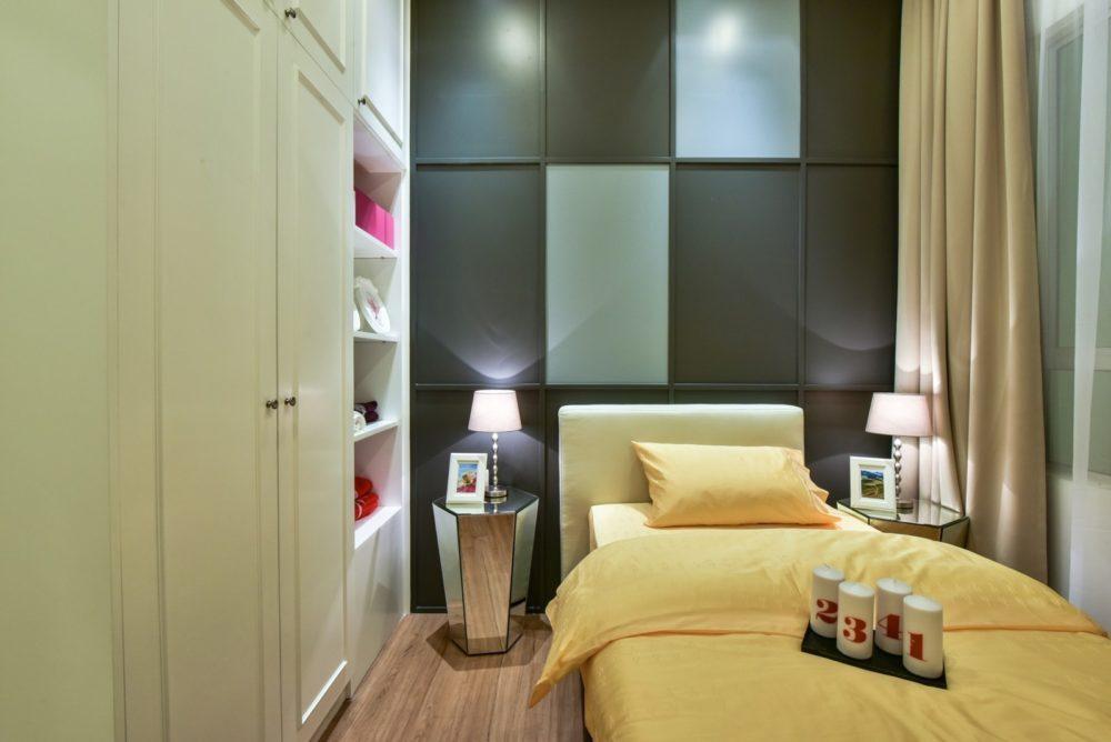small bedroom design in Ceria Residence, Cyberjaya