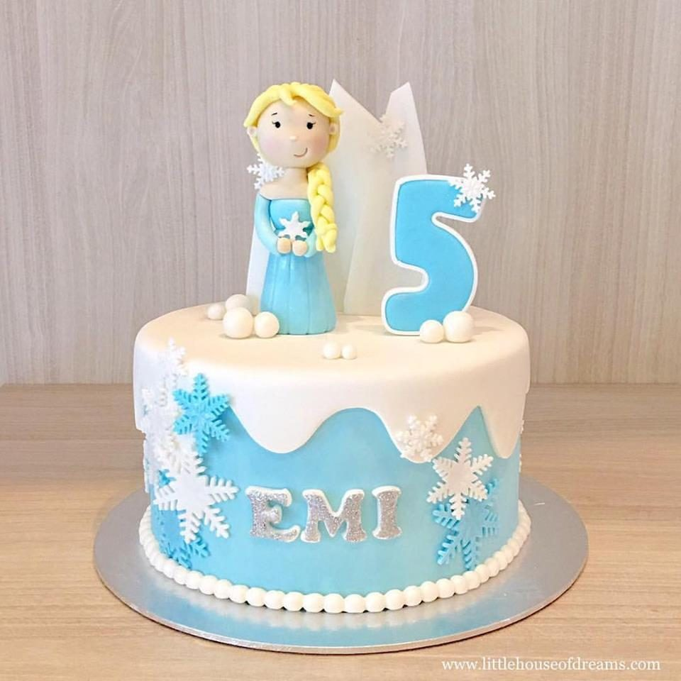 18 Frozen Birthday Cakes Made To Order In Singapore
