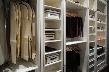 How to find the right layout for your built-in wardrobe