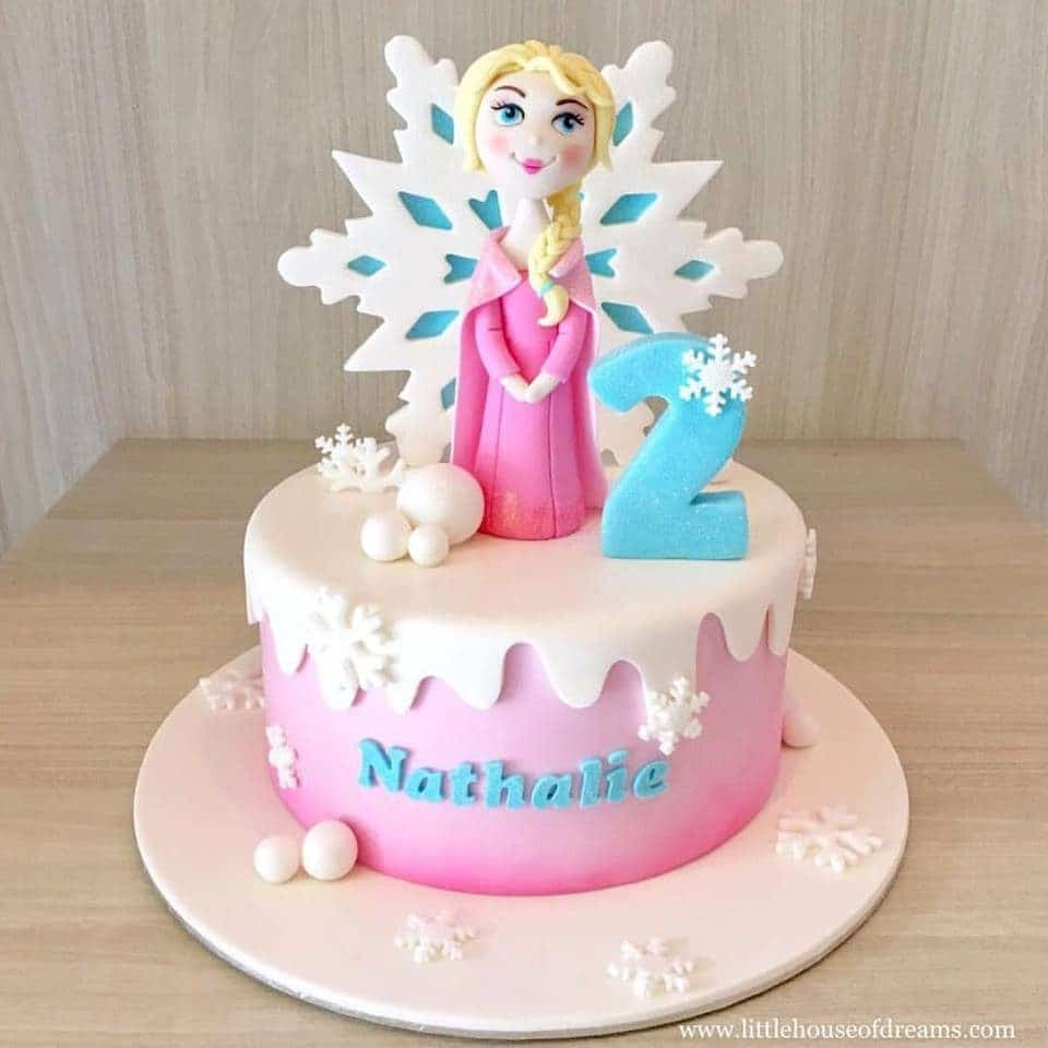 18 Frozen Birthday Cakes Made To Order In Singapore Recommend Living