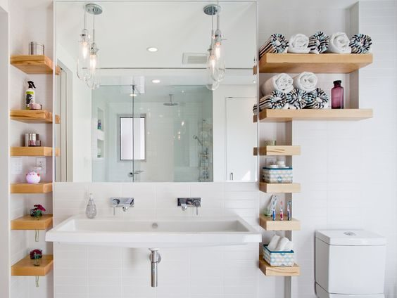 The most stylish bathroom storage ideas we found