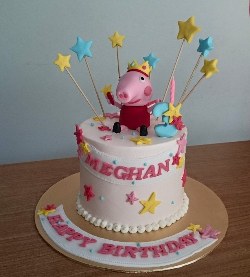 12 Cute Peppa Pig Birthday Cake Designs In Singapore Recommend Living