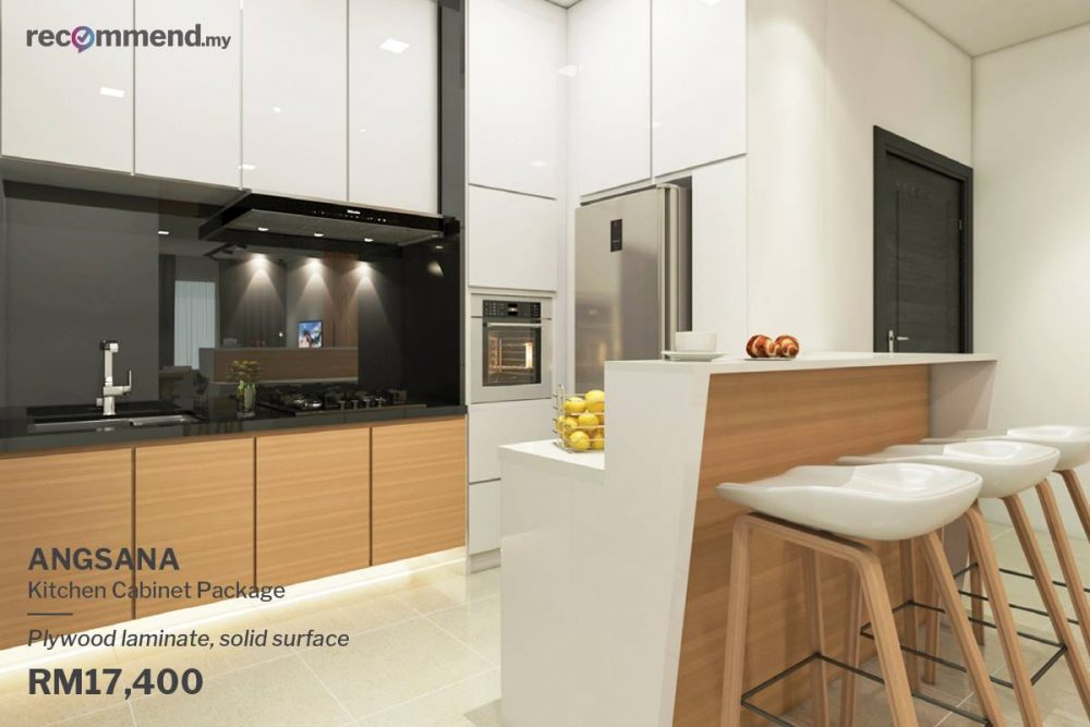 ANGSANA - Budget kitchen renovation package RM17,400