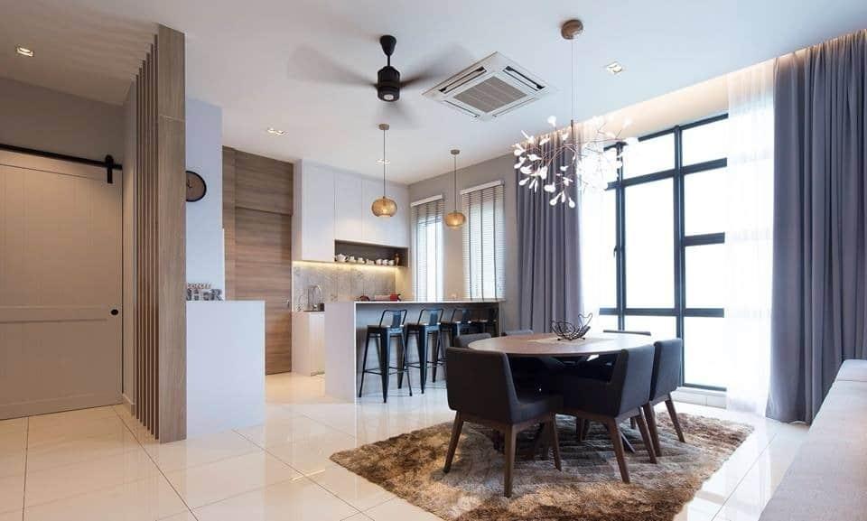 Interior design Malaysia at The Rise, Rawang by Box Creative