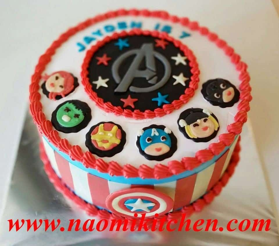 Miraculous Custom Made Superhero Cakes Which You Can Order Recommend My Personalised Birthday Cards Cominlily Jamesorg