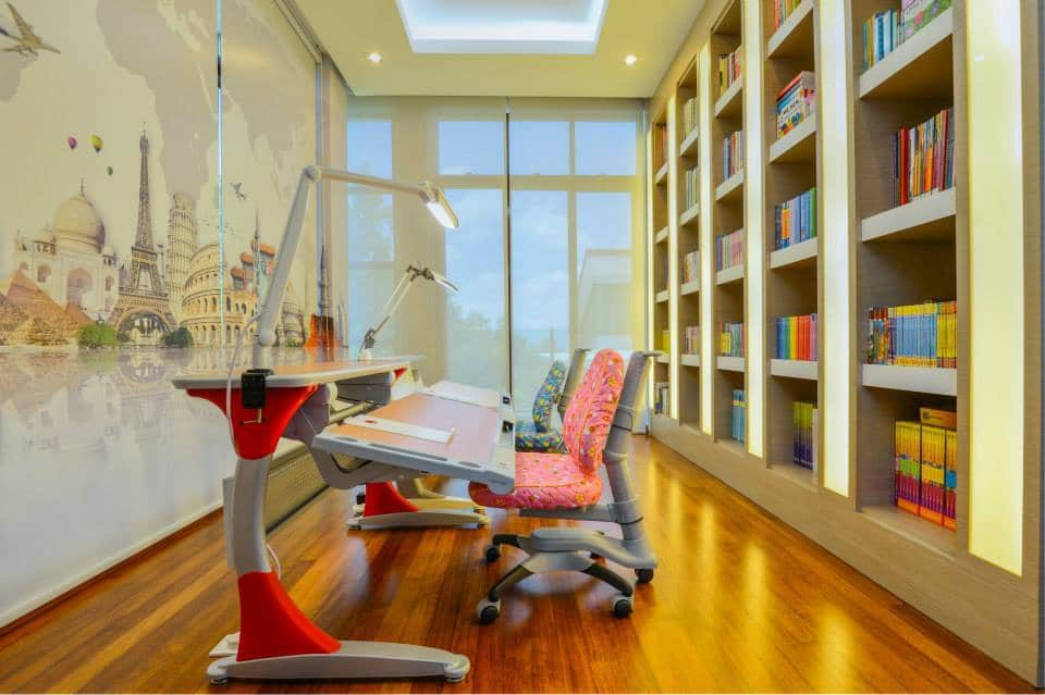 Interior design for study room in Anjung Tiara by Desigva Interior