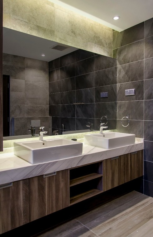 Tiles Bathroom In Sunway Spl By Movent Design