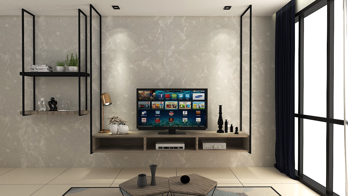 5 TV cabinets under RM3000