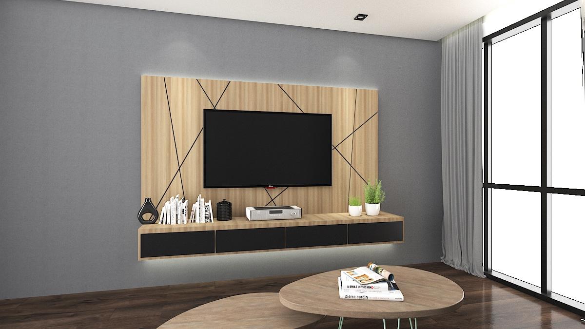 GEO TV Cabinet Design