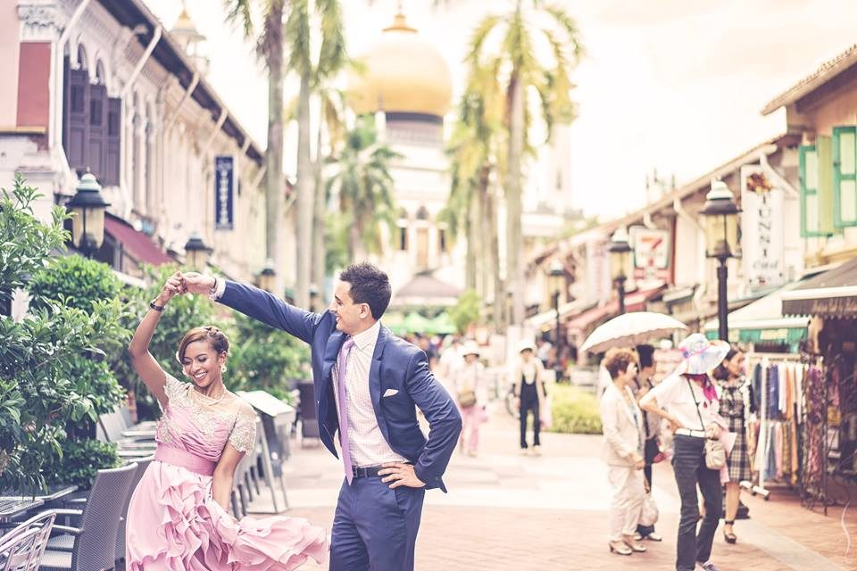 Arab Street pre-wedding photoshoot in singapore by Simplifai Studios. Source