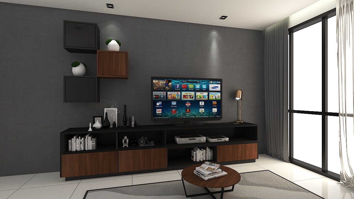 MORK TV Cabinet Design