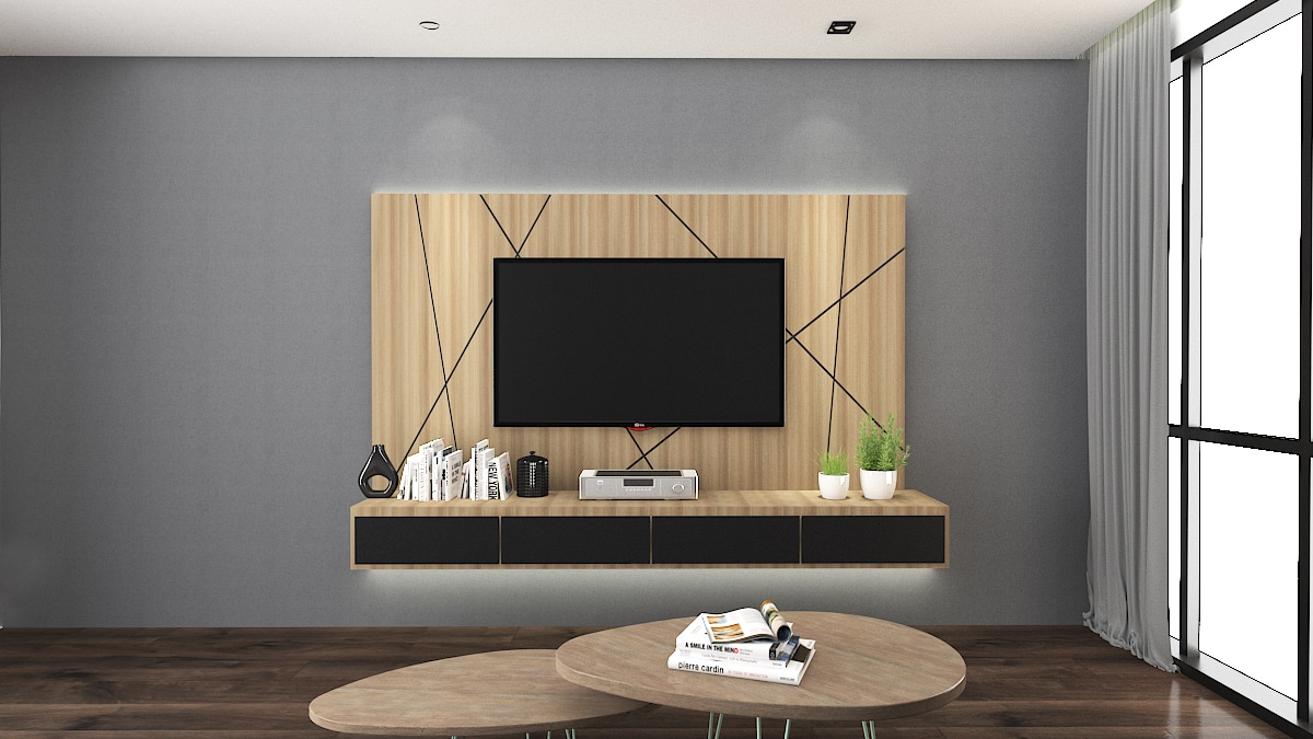 GEO TV wall cabinet design