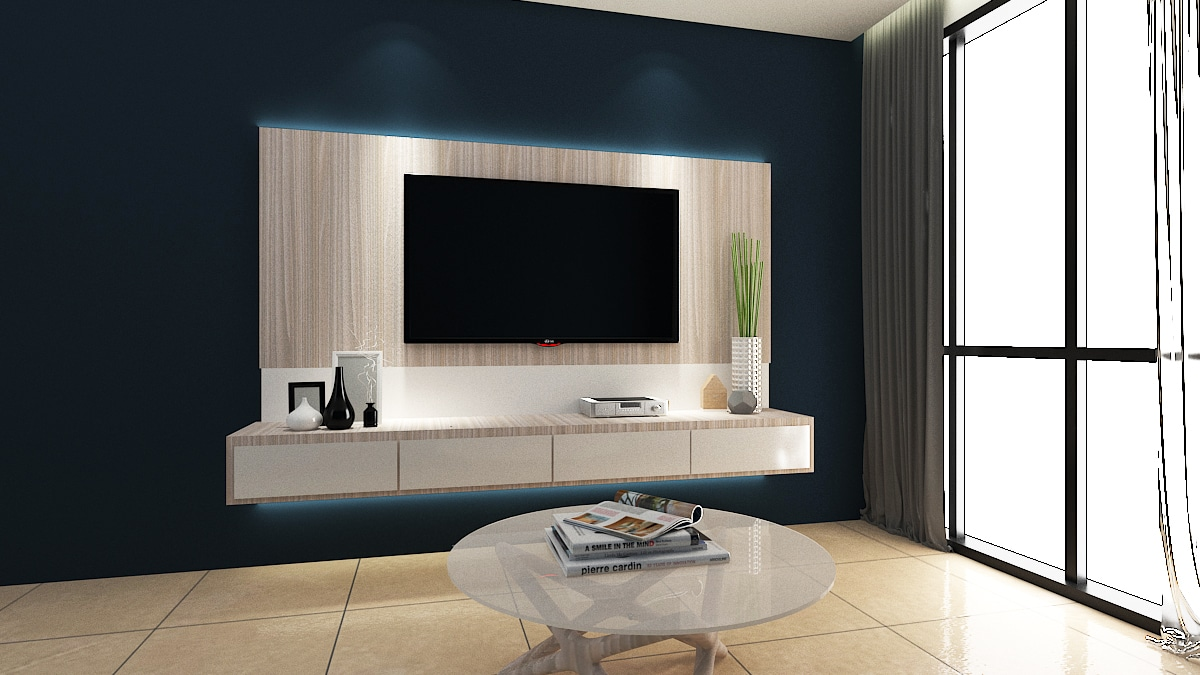 LINEAR TV Cabinet Design