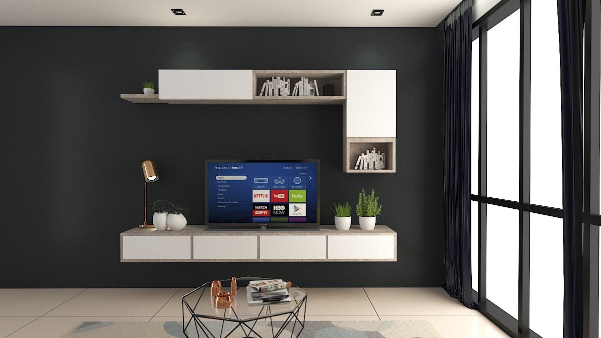 TEXTURE TV Cabinet Design