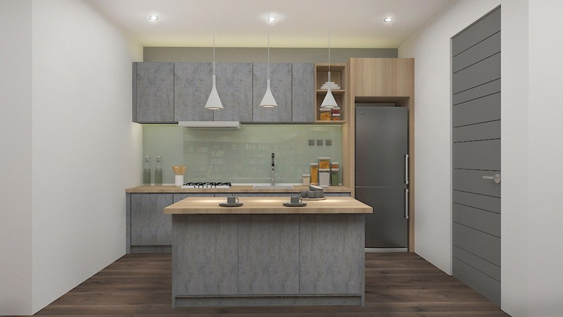 rubberwood kitchen worktop package