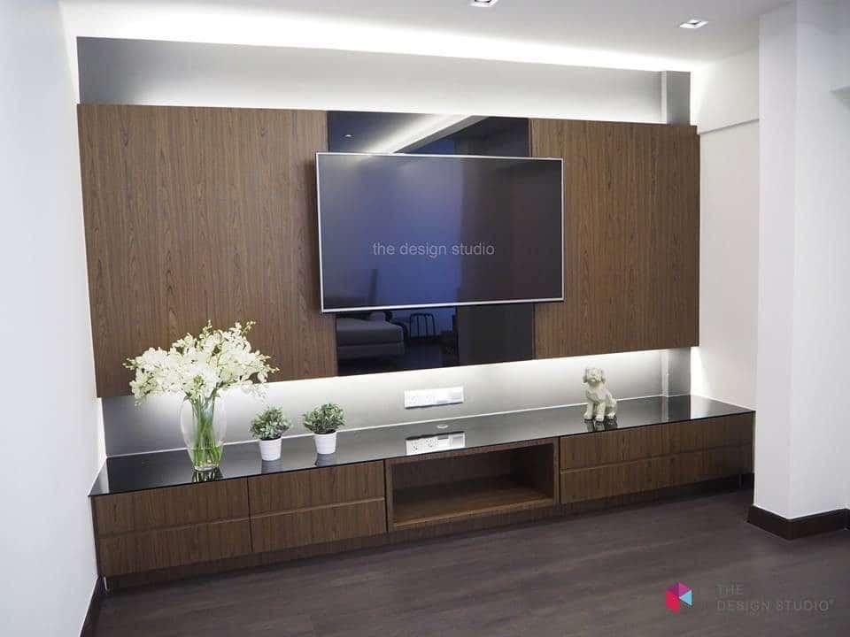 Wonderful TV Cabinet Designs Malaysia