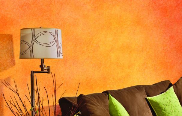 faux painting color wash