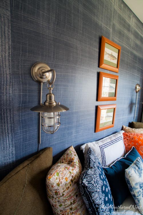 linen weave is one of the more interesting wall painting ideas that will make your wall unique