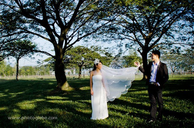 pre-wedding photos, kepong metropolitan park