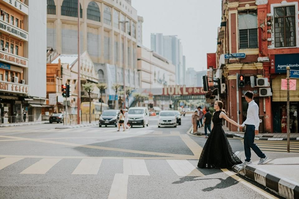pre-wedding photos, petaling street