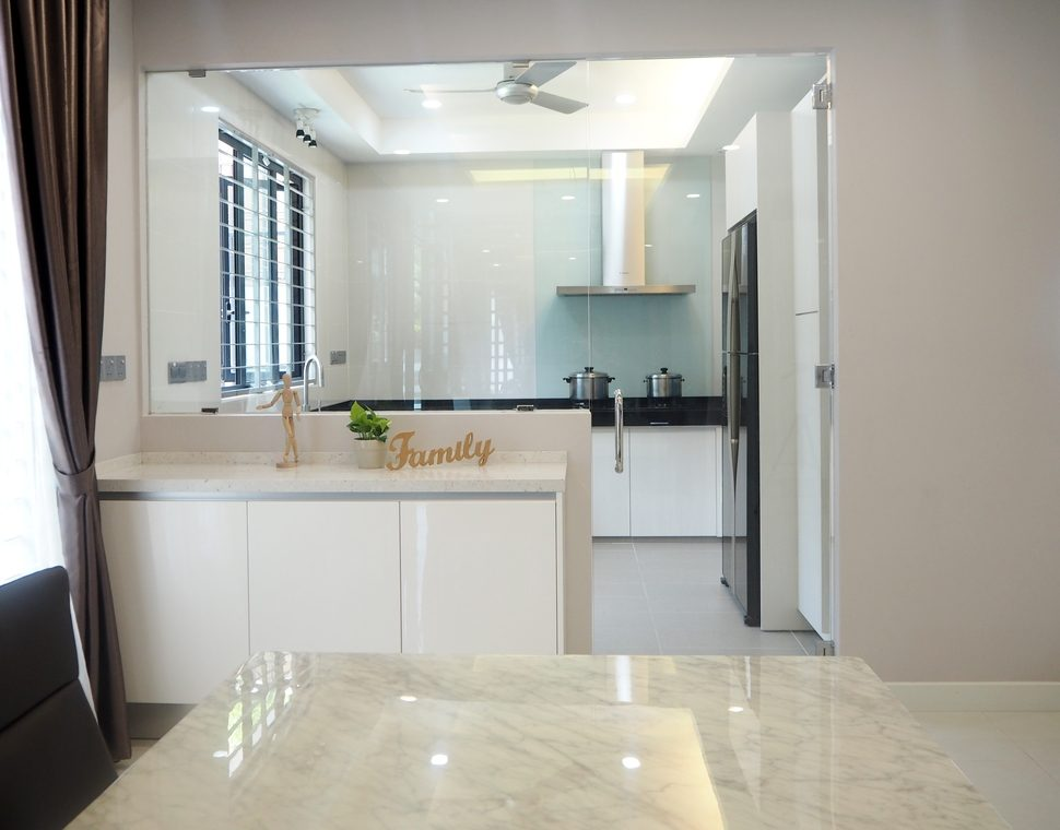 Etonnant Wet And Dry Kitchen Design For Bungalow In Subang Jaya By Meridian  Inspiration