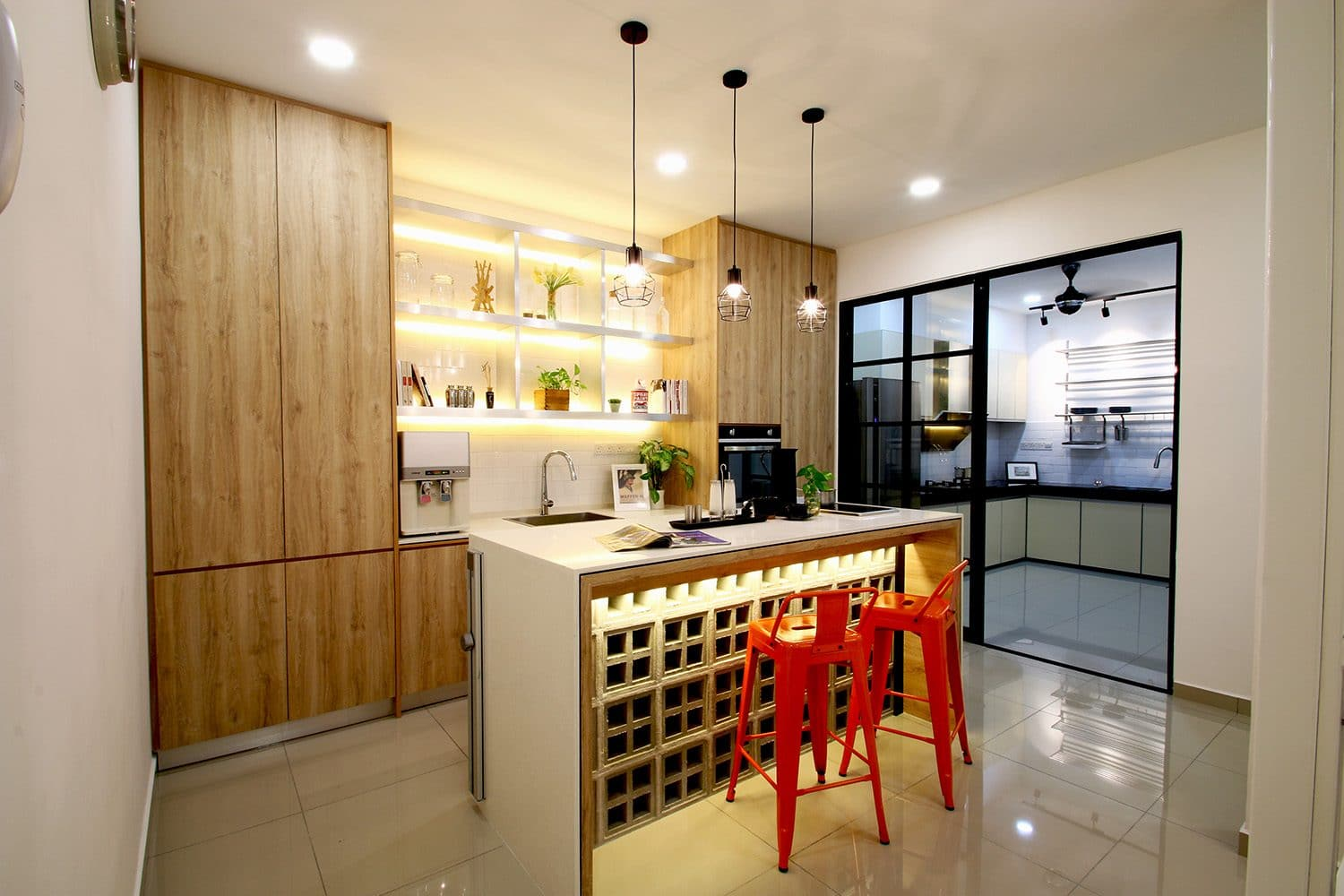 14 Wet and Dry Kitchen Design Ideas in Malaysian Homes