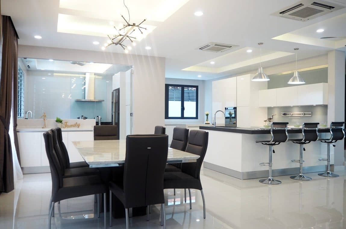 14 Wet and Dry Kitchen Design Ideas in Malaysian Homes - Recommend ...