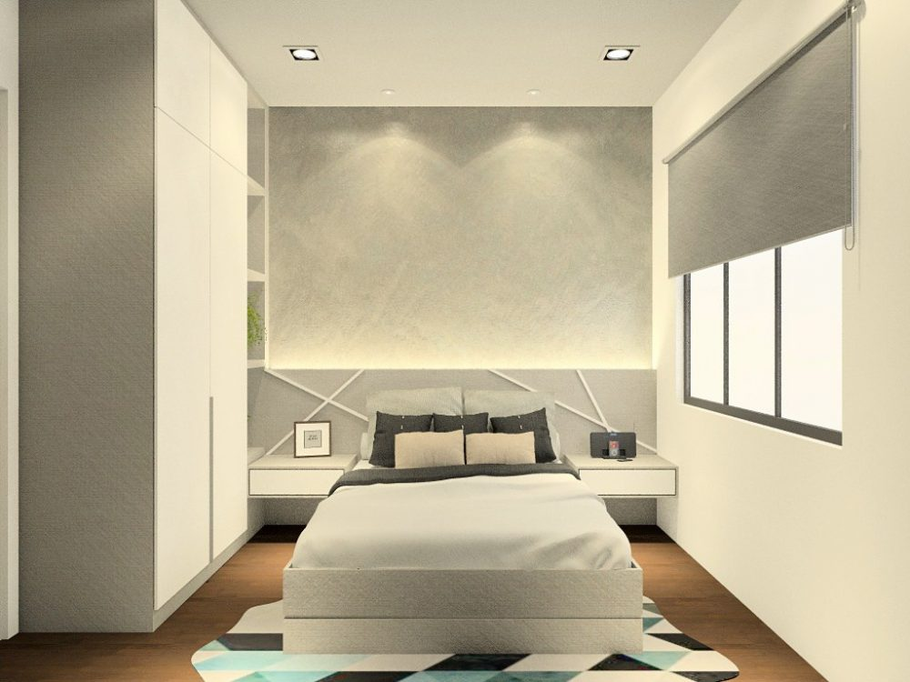 Elmina valley 1 bedroom interior design package by Recommend.my