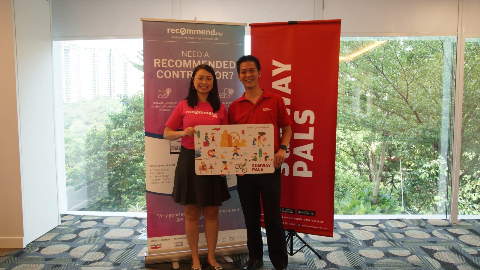 Recommend.my Is Now a Sunway Pals Merchant, so Start Redeeming Your Pals Points Now!
