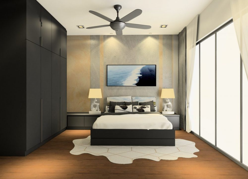 Elmina valley 1 master bedroom interior design package by Recommend.my