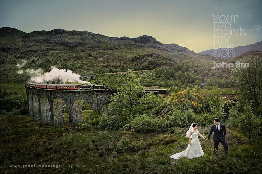 pre-wedding destination