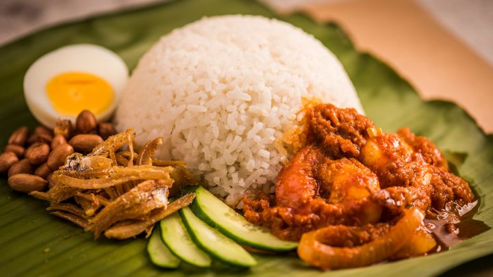 "Contractors Find ""Concrete"" Evidence That Nasi Lemak Belongs to Malaysia"