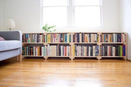 11 Ways to Create Low Bookshelves